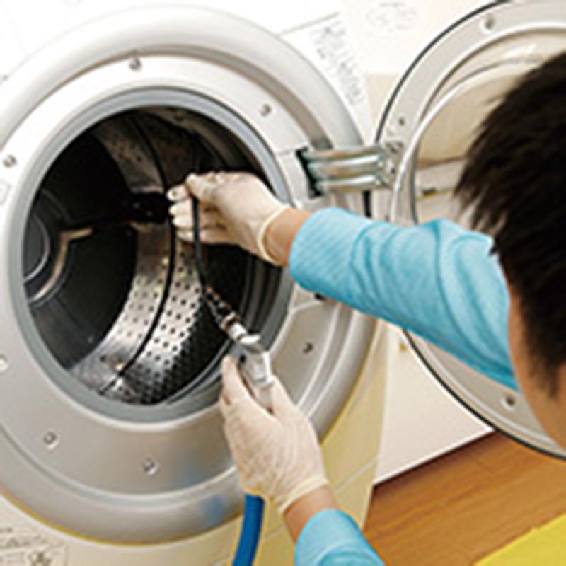 ドラム式洗濯乾燥機除菌クリーニング